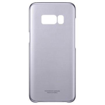 Samsung Clear Cover EF-QG955CB für Galaxy S8+ - Schwarz