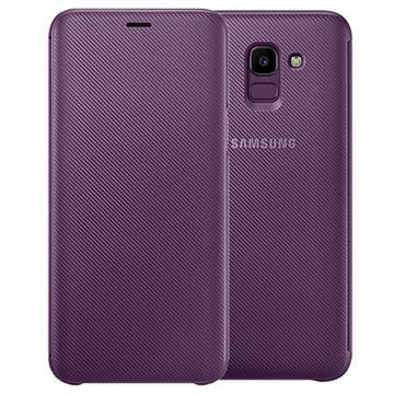 Samsung Galaxy J6 Wallet Cover EF-WJ600CEEGWW - Purpur