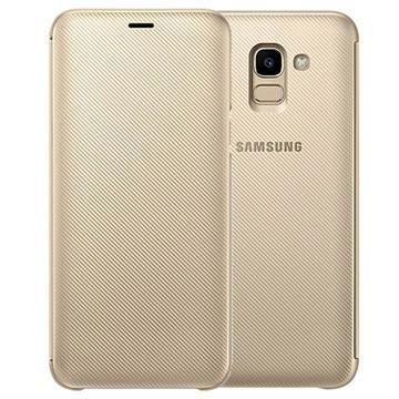 Samsung Galaxy J6 Wallet Cover EF-WJ600CFEGWW - Gold