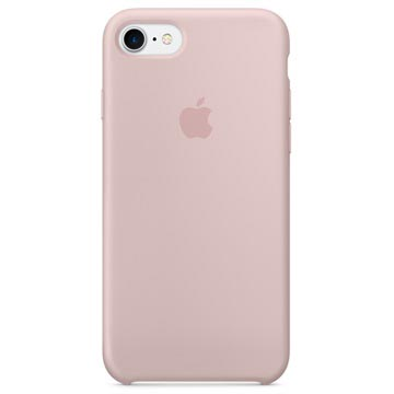 iPhone 7 / iPhone 8 Apple Silikonhülle MQGQ2ZM/A - Sandrosa