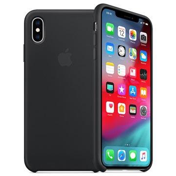 iPhone XS Max Apple Silikonhülle MRWE2ZM/A - Schwarz
