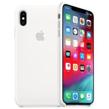 iPhone XS Max Apple Silikonhülle MRWF2ZM/A - Weiß