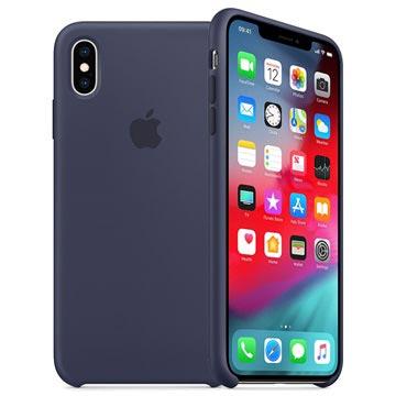 iPhone XS Max Apple Silikonhülle MRWG2ZM/A - Mitternachtsblau