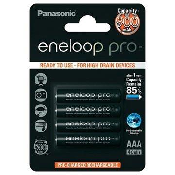 Panasonic Eneloop Pro Aufladbare AAA Batterien - 900mAh