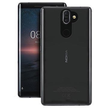 Nokia 8 Sirocco Puro 0.3 Nude Cover - Durchsichtig