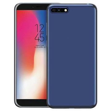Puro 0.3 Nude Huawei Y6 (2018) TPU Hülle - Durchsichtig