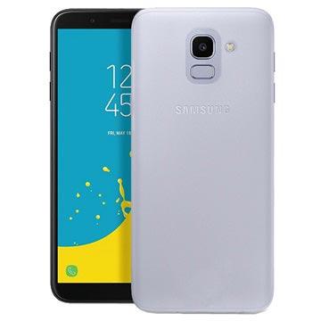 Puro 0.3 Nude Samsung Galaxy J6 TPU Hülle - Durchsichtig