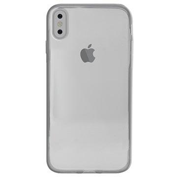 iPhone X / iPhone XS Puro 0.3 Nude TPU Hülle - Durchsichtig