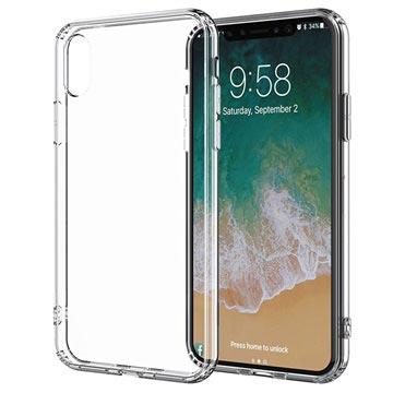 Puro Clear Series iPhone XS Max Schutzhülle - Durchsichtig