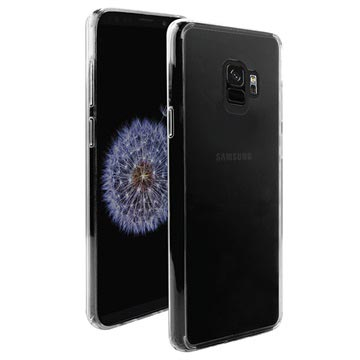 Puro Clear Samsung Galaxy S9 Schutzhülle - Durchsichtig