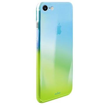 iPhone 7 / iPhone 8 Puro Hologram Handy Hülle - Hellblau / Grün