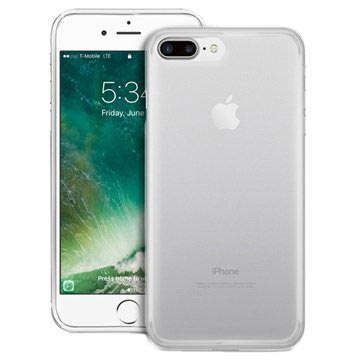 iPhone 7 Plus / iPhone 8 Plus Puro Plasma Silikonhülle - Durchsichtig