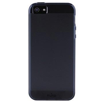 iPhone 5 / 5S / SE Puro Click-On Schale - Schwarz
