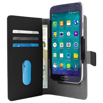Puro Slide Universal Smartphone Schutzhülle mit Geldbörse - XL - Sch