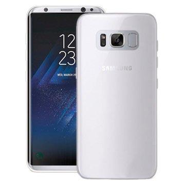 Samsung Galaxy S8 Puro 0.3 Ultra Slim Cover - Durchscheinend Weiß