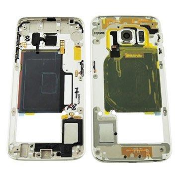 Samsung Galaxy S6 Edge Mittelgehäuse - Gold