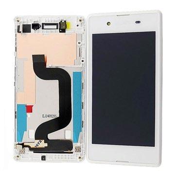 Sony Xperia E3 Oberschale & LCD Display - Weiß