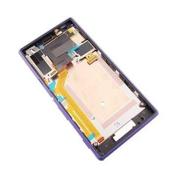 Sony Xperia M2 Oberschale & LCD Display - Purpur