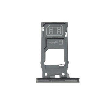 Sony Xperia XZ2 SIM & MicroSD Karten Halter - Schwarz