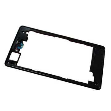 Sony Xperia Z1 Compact Mittelgehäuse - Schwarz