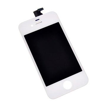 iPhone 4S LCD-Display - Weiss