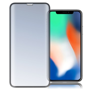 iPhone X/XS/11 Pro 4smarts Curved Glass Displayschutz - Schwarz