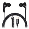 4smarts Melody USB-C In-Ear Headset - Schwarz