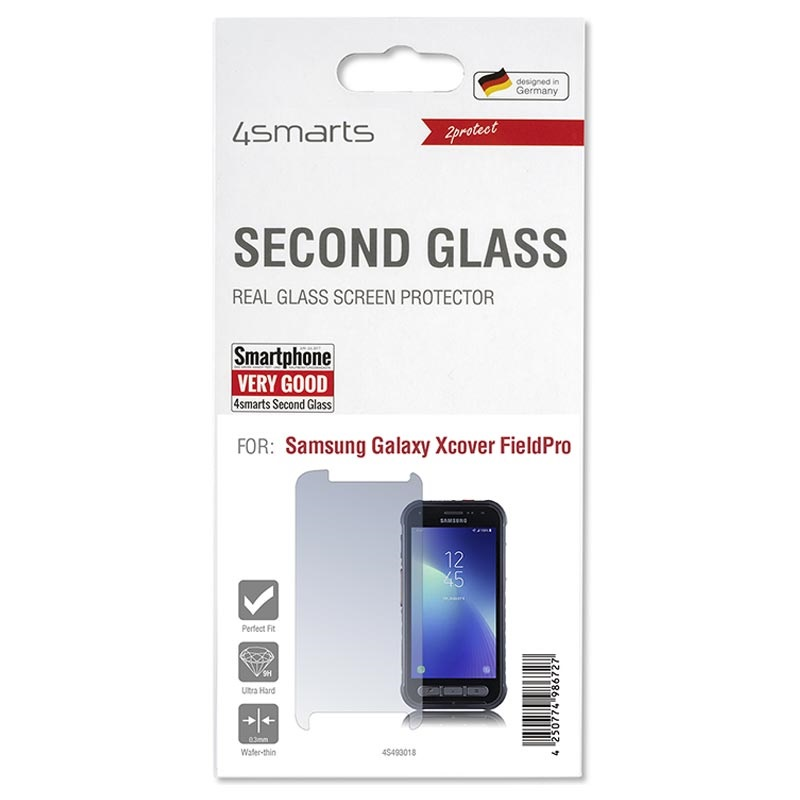 4smarts Second Glass 2.5D Samsung Galaxy Xcover FieldPro Panzerglas