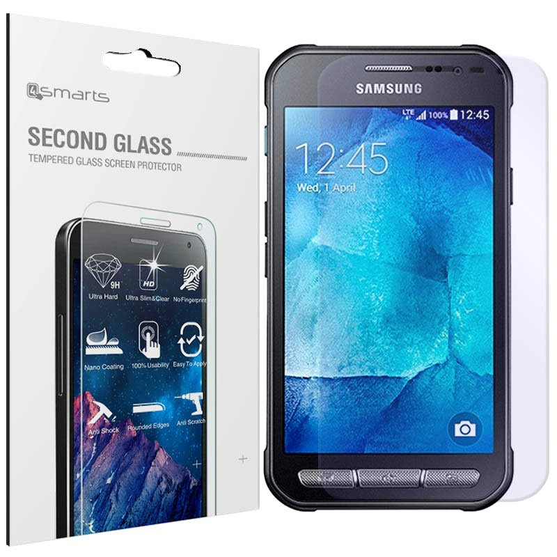 samsung galaxy xcover 3 4smarts second glass displayschutz. Black Bedroom Furniture Sets. Home Design Ideas