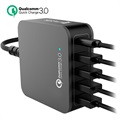 4smarts VoltPlug QC 3.0 Multiport Dockingstation - Type-C & 4 USB - 40W