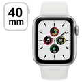 Apple Watch SE LTE MYEF2FD/A - 40mm, Sportarmband weiß