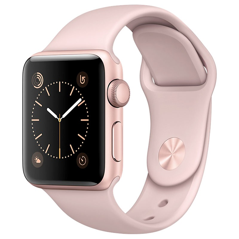 apple watch 2 mnny2zd a sportarmband 38mm ros gold. Black Bedroom Furniture Sets. Home Design Ideas