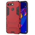 Armor Serie Honor View 20 Hybrid Hülle mit Stand - Rot