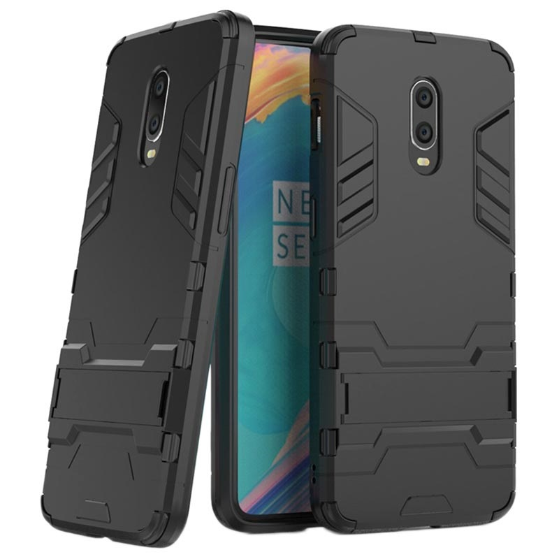 Armor Serie OnePlus 6T Hybrid Hülle mit Stand