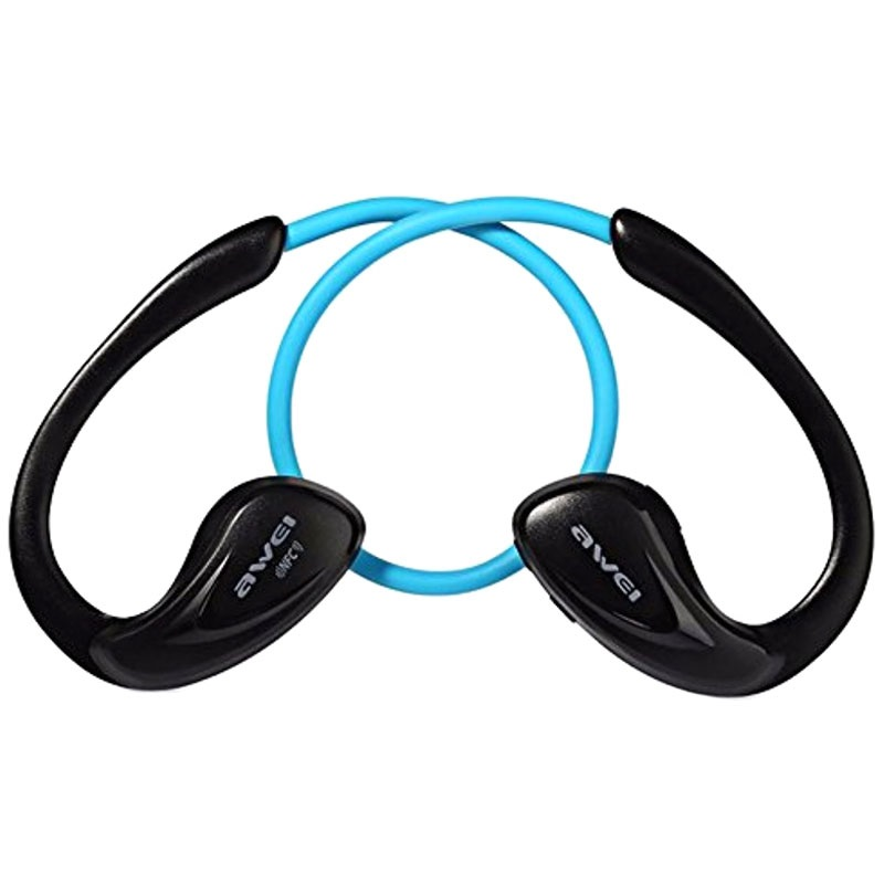 awei a880bl in ear sports bluetooth kopfh rer blau. Black Bedroom Furniture Sets. Home Design Ideas