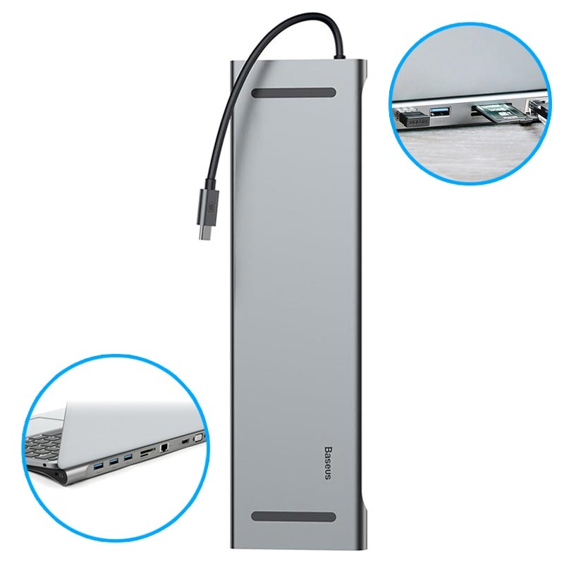 Baseus Enjoyment 10-in-1 Type-C Dockingstation