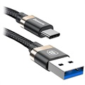 Baseus Golden Belt USB 3.1 Typ-C Kabel - Schwarz / Gold