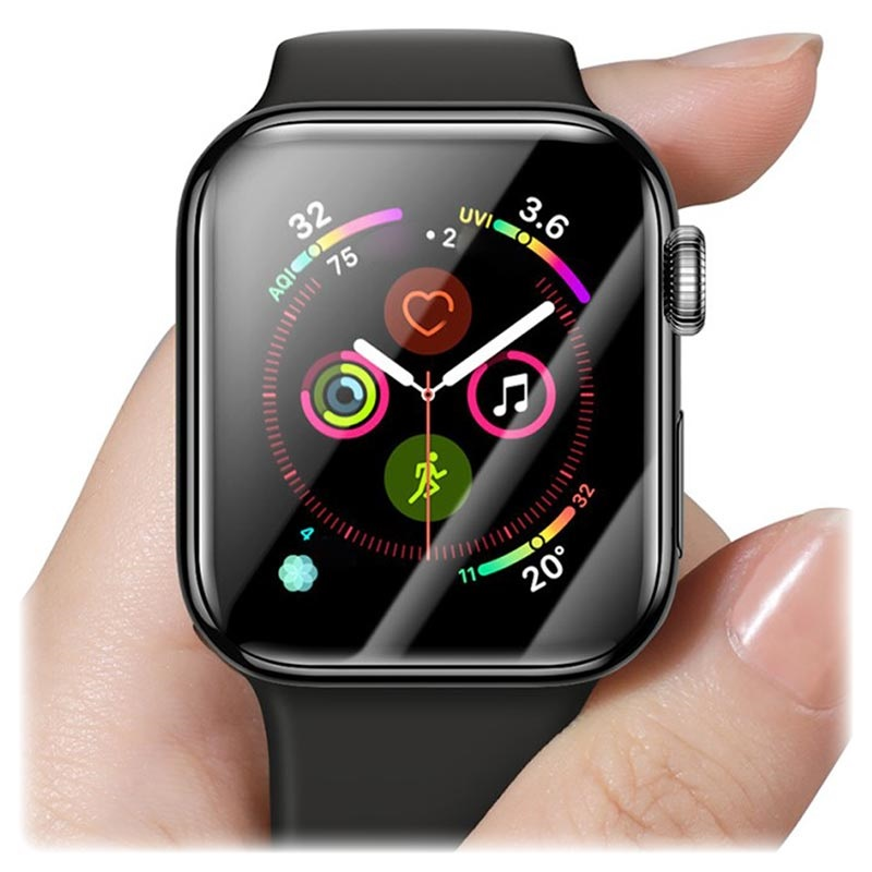 Baseus Ultradünne Apple Watch Series 5/4 Schutzglas