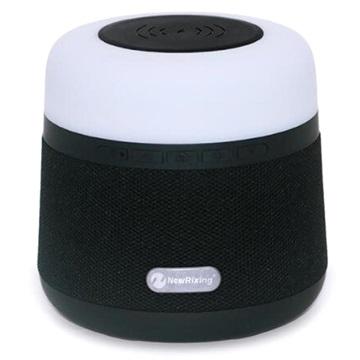bluetooth lautsprecher mit qi ladeger t rgb led lampe schwarz. Black Bedroom Furniture Sets. Home Design Ideas