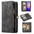 CaseMe 2-in-1 Multifunktions Samsung Galaxy S10+ Wallet Hülle - Grau