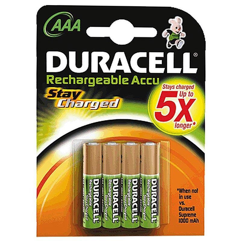 duracell staycharged aufladbare aaa batterien 800mah. Black Bedroom Furniture Sets. Home Design Ideas