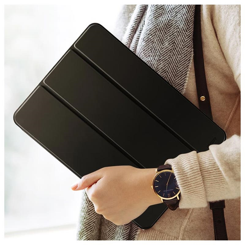 ESR Yippee iPad Air (2019) Tri-Fold Smart Folio Hülle - Schwarz