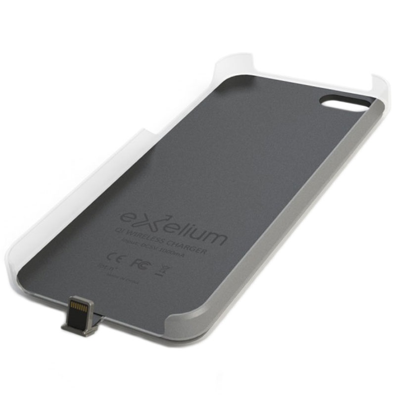 IPhone 5 5S SE Exelium Magnetische Qi Ladehulle