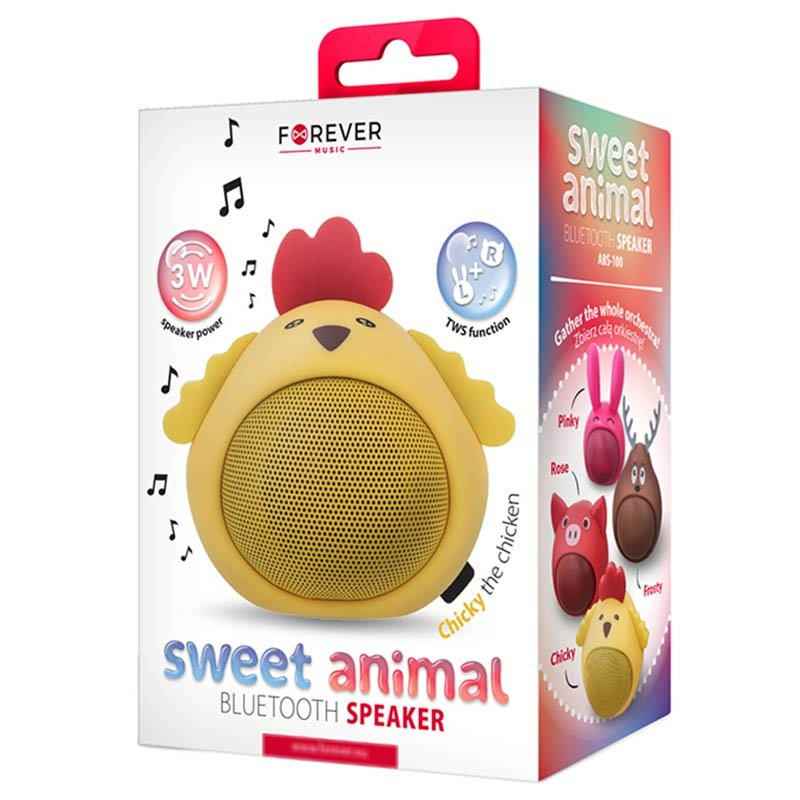 Forever Sweet Animal ABS-100 Bluetooth Lautsprecher