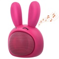 Forever Sweet Animal ABS-100 Bluetooth Lautsprecher - Pinky