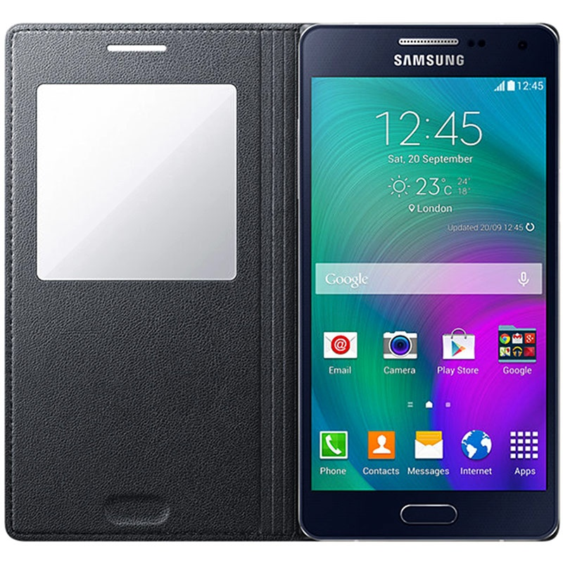 Galaxy Ef A52015S Samsung Ca500bc View Flip Tasche CQrdoxeBW