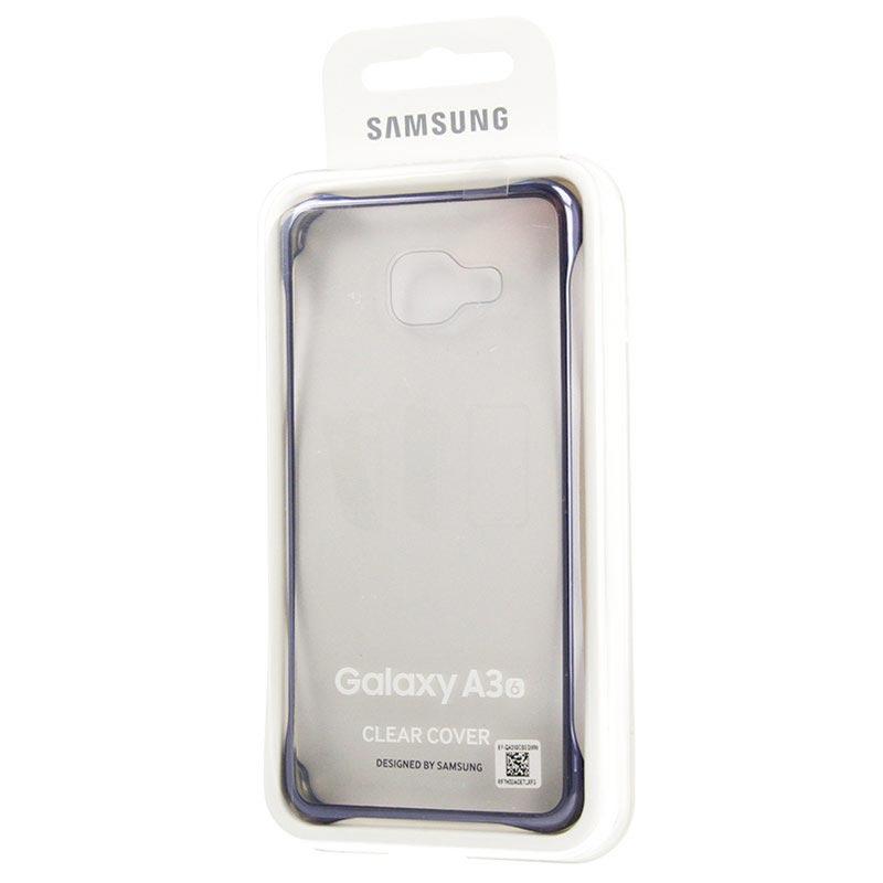 Samsung Galaxy A3 2016 Clear Schale Ef Qa310cb Blau Schwarz