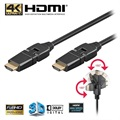 Goobay Highspeed HDMI Kabel mit Internet - Drehbar