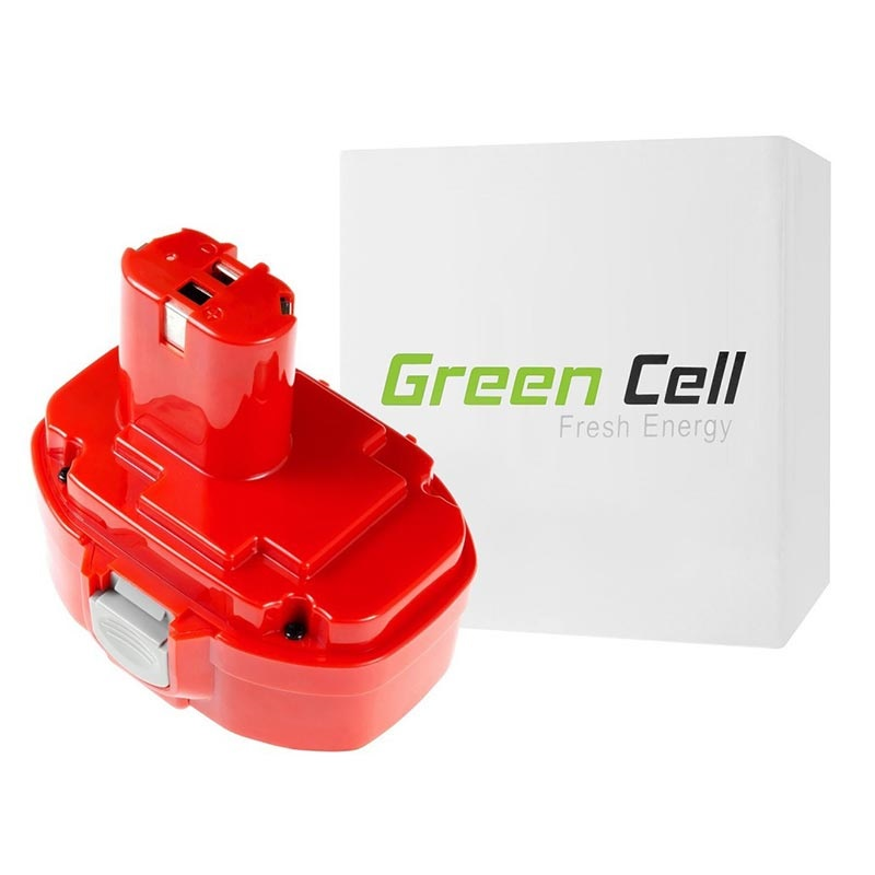 Green Cell Akku - Makita PA18, 1822, 1835, 192828-1 - 3Ah