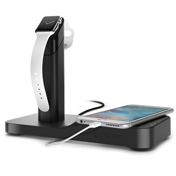 griffin watchstand ladestation apple watch iphone ipad. Black Bedroom Furniture Sets. Home Design Ideas